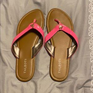 Talbots flip flops